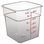 CF021 Polycarbonate Square Storage Container