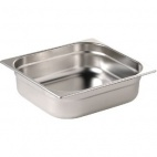 GN1/2 100 Stainless Steel 1/2 Gastronorm Pan 100mm
