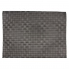 PVC placemat Silver And Grey