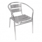 U419 Aluminium Stacking Chair (Pack of 4)