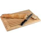 CF029 Thick Slatted Wooden Chopping Board