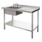 Tables, Sinks And Cupboards