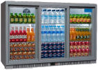 SP3BC-SS 274 Bottle Triple Door Back Bar Cooler