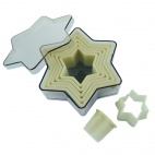 Plain Star Cutters dia 7.3mm to 120mm set of 7