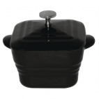 GG041 Cast Iron Mini Square Pot