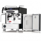 GE948 Velocino Espresso Coffee Machine Including 4.4 Ltr Fridge