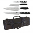 Tsuki 4 Piece Knife Set and Case