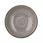 Churchill Stonecast Round Coupe Bowls Peppercorn Grey 220mm
