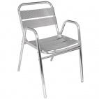 U501 Aluminium Stacking Chair (Pack of 4)