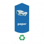 Paper Recycling Stickers
