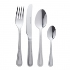 Olympia 4 Piece Bead Cutlery Set
