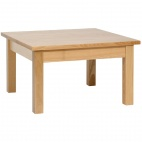 DL446 Wooden Coffee Table Natural Finish