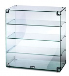 GC46 Glass Display Case With Open Back
