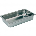 K048 Stainless Steel 1/1 Gastronorm Pan 100mm