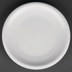 CG012 Classic White Coupe Plate