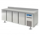 RC4DR (444443644) 4 Door Refrigerated Prep Counter with Upstand