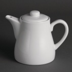U822 Whiteware Teapot