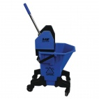 SYR Long Tall Sally Mop Wringer Bucket Blue