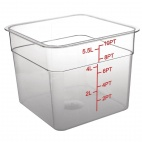 CF022 Polycarbonate Square Storage Container