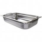 CB179 Stainless Steel 1/1 Gastronorm Pan With Handles 100mm