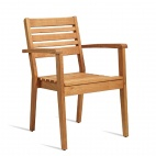 Wooden Stacking Armchair