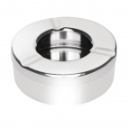 Stainless Steel Windproof Ashtray 90mm