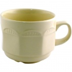 V3618 Monte Carlo Ivory Stacking Tea Cup