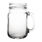 Handled Jam Jar Glasses