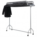 CG769 Twin Top Steel Garment Rail