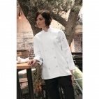 Womens Le Mans Chefs Jacket White S