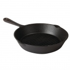 M652 Ribbed Skillet - Round