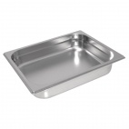 GC969 Heavy Duty Stainless Steel 1/2 Gastronorm Pan 65mm