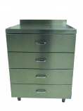 DRAWER4 Stainless Steel Drawer Unit