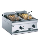 Twin Tank Gas Counter Top Fryers