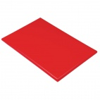 J034 Extra Thick Red High Density Chopping Board