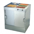 G045 Hot Cupboard with Bain Marie Top