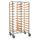 P167 Self Clearing Trolley - Double