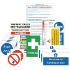 Catering Health & Safety Signs