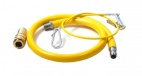 JJ121000 1/2 Inch Gas Hose 1000mm