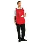 B042-1 Tabard with Pocket - Red