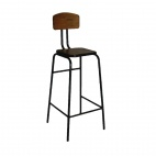Industrial Metal Highstool (Pack of 2)