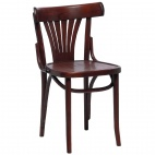 CF143 Bentwood Bistro Sidechair Walnut 460mm (Box 2)