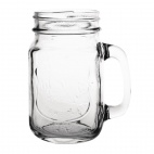 Handled Mason Jar 450ml