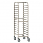 Stainless Steel Trolley 15 Shelves