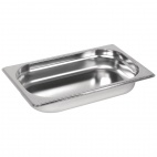 GM313 Stainless Steel 1/4 Gastronorm Pan 40mm