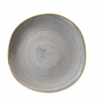 Churchill Stonecast Round Plates Peppercorn Grey 264mm