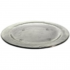 DM367 Round Glass Plate