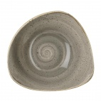 Churchill Stonecast Round Bowls Peppercorn Grey 265mm