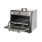 45 LUX Stainless Steel Charcoal Oven