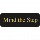 W344 Mind The Step Sign